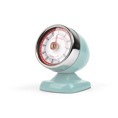 Kikkerland Vintage Streamline Kitchen Timer