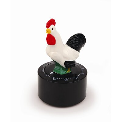 Kikkerland Rooster Talking Kitchen Timer
