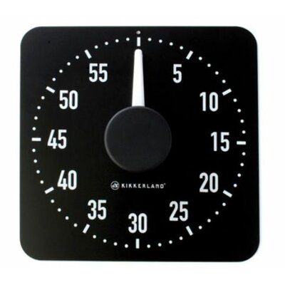 Kitchen Timer in Black