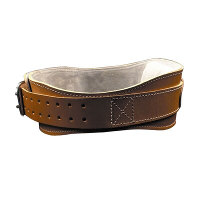 "Schiek Sports, Inc. 4.75"" Power Leather Lifting Belt in Natural Leather"