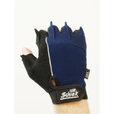 Schiek Sports, Inc. Cycling Gloves in Blue / Black