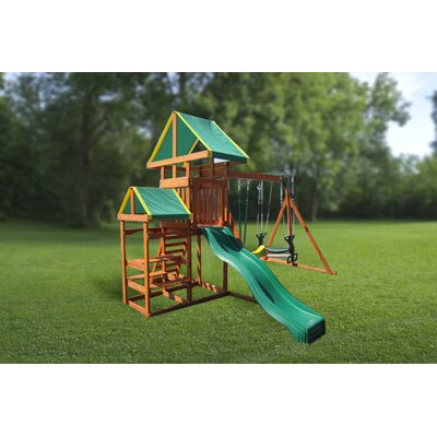 Swing Town Woodlands Gym Set