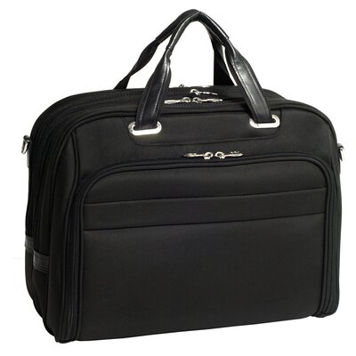 McKlein USA R Series Springfield Nylon Laptop Case in Black