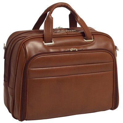 McKlein USA R Series Springfield Leather Laptop Case
