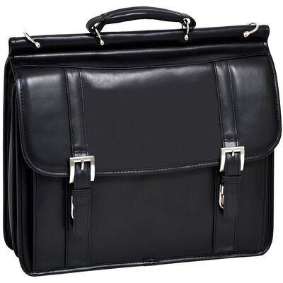 McKlein USA Scottsdale Leather Laptop Briefcase