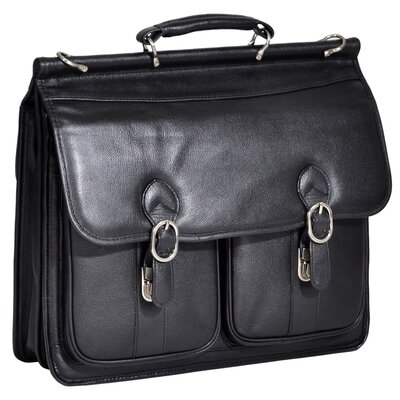 S Series Hazel Crest Leather Double Compartment Laptop Case