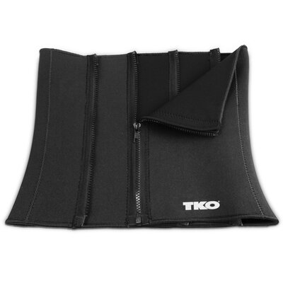 TKO Sports Women's Zipper Closure Slimmer Belt