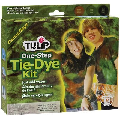 Tulip One Step Dyes Camouflage Tie Kit