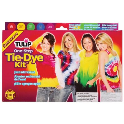 Tulip One Step Dyes Rainbow Tie Kit