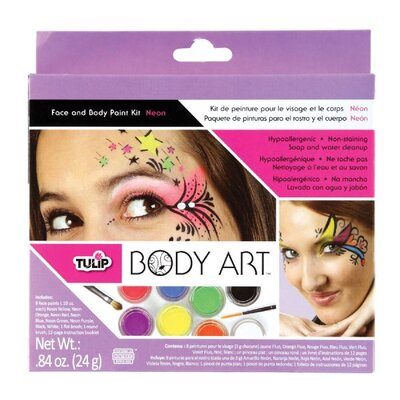 Tulip Body Art Neon Paint Kit