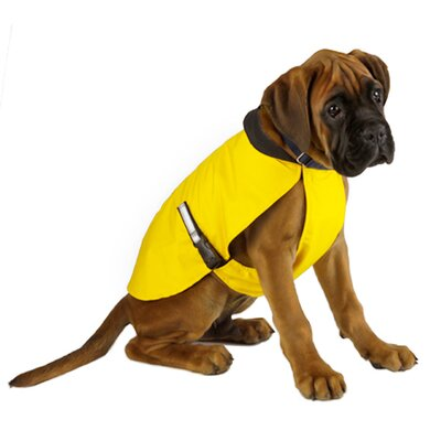 BUB Coat Rainwear Waterproof Breathable Taxi Yellow Dog Coat