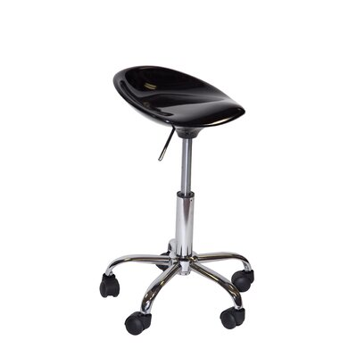 martin universal design height adjustable contour stool with casters reviews wayfair supply. Black Bedroom Furniture Sets. Home Design Ideas