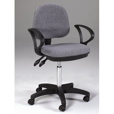 Martin Universal Design Vesuvio Mid-Back Office Chair with Arms
