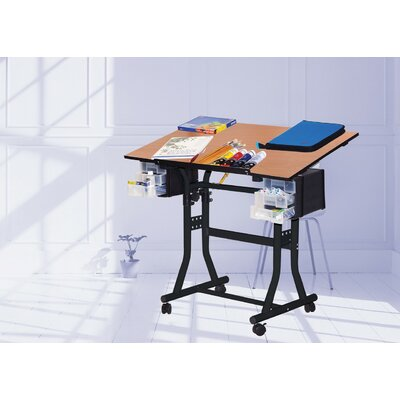 Martin Universal Design Creation Station Melamine Drafting Table