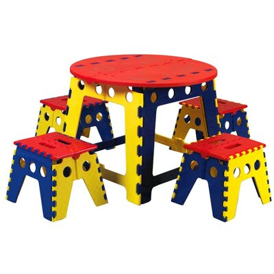 Martin Universal Design Legacy Kids 5 Piece Table and Chair Set