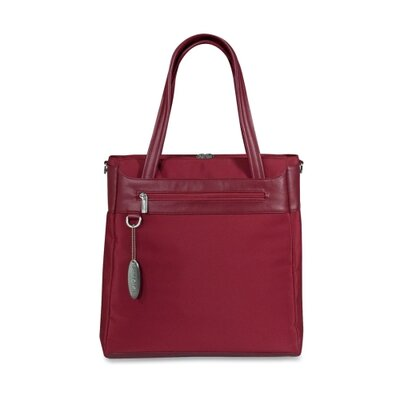 Laptop Vertical Tote, Ruby