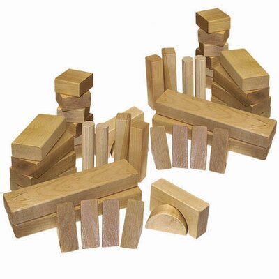 Holgate Toys 62 Pieces Block Set
