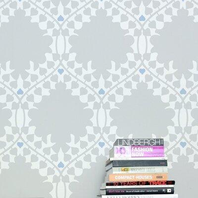 Aimee Wilder Designs Leaf Damask Wallpaper