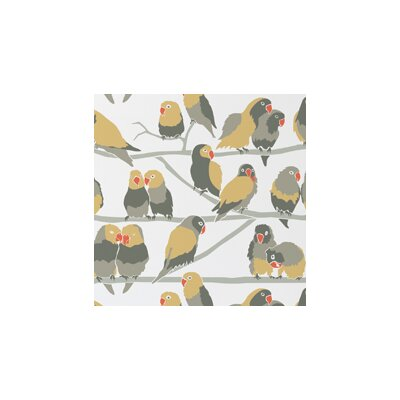 Aimee Wilder Designs Lovebirds Wallpaper