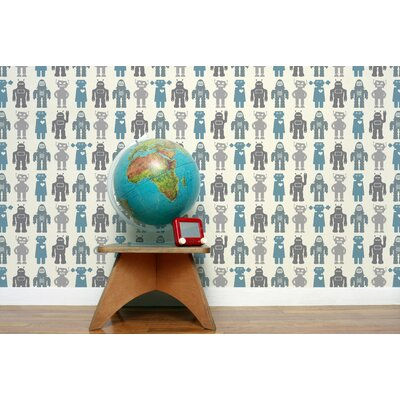 Aimee Wilder Designs Robots Wallpaper