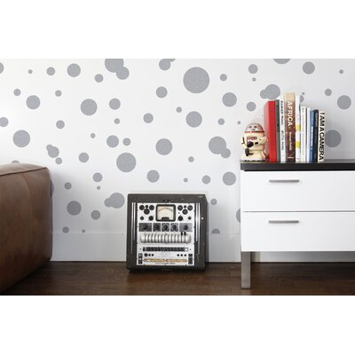 Aimee Wilder Designs Space Dots Wallpaper by Aimée Wilder
