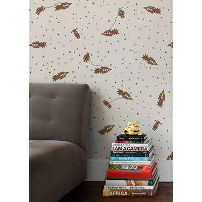 Aimee Wilder Designs Astrobots Wallpaper by Aimée Wilder