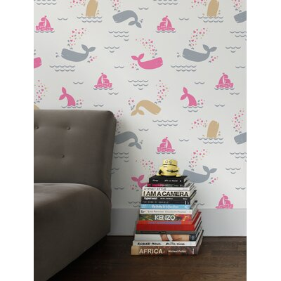 Aimee Wilder Designs Whalentine Wallpaper by Aimée Wilder