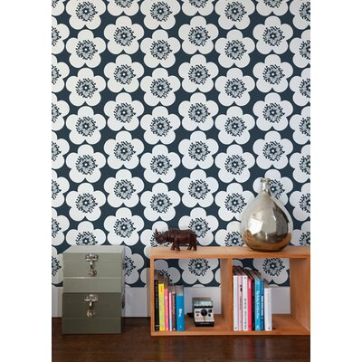 Aimee Wilder Designs Pop Floral Wallpaper by Aimée Wilder