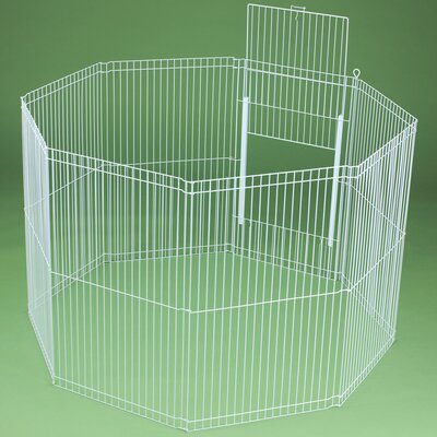 Ware Mfg Clean Living 8-Panel Small Animal Playpen