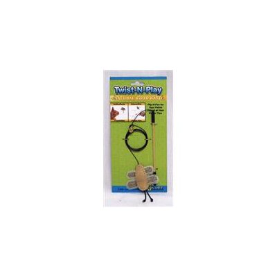 Ware Mfg Twist-N-Play Natural Cat Toy