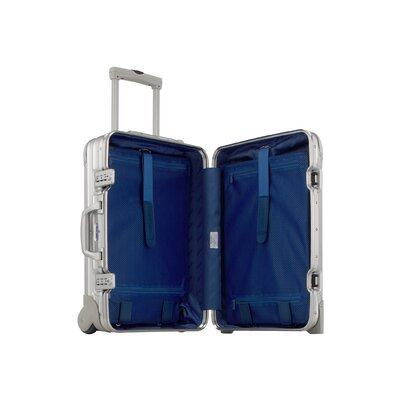 "Rimowa Topas Aluminum Silver Cabin 21.7"" Trolley Carry-On"