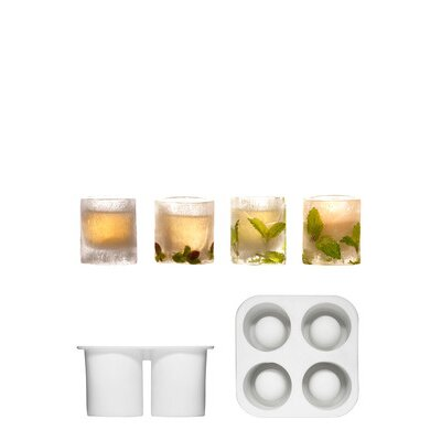 Sagaform Ice Cube Tray/Schnapps Glass