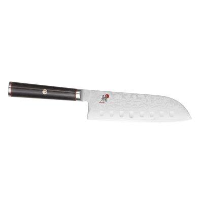 Kaizen Granton Santoku Knife with Hollow Edge