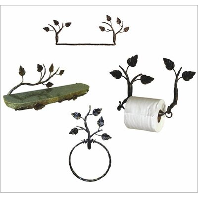 Quiescence Aspen 5-Piece Bathroom Accessory Set