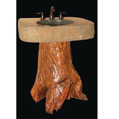 Wood Pedestal Sink : Pedestal Bathroom Sink - 27080-27430 Features: -Pedestal bathroom sink ...