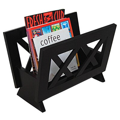Oceanstar Design Contemporary Magazine Rack