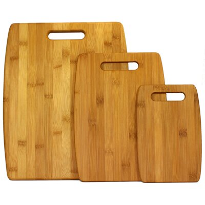 Oceanstar Design 3-Piece Bamboo Cutting Board Set