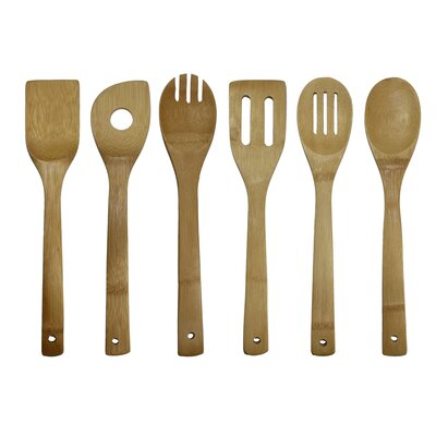 Oceanstar Design 6-Piece Cooking Utensil Set