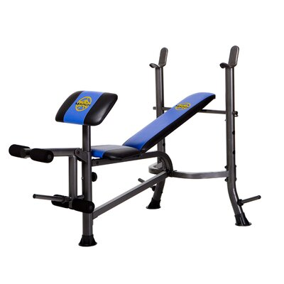 Marcy Standard Weight Adjustable Olympic Bench