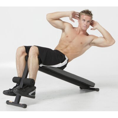 Slant Board Decline Ab Bench