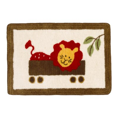Cotton Tale Animal Tracks Kids Rug