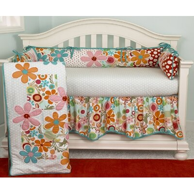 Cotton Tale Lizzie 4 Piece Crib Bedding Set