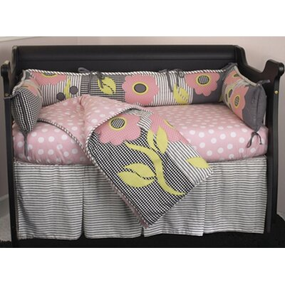 Cotton Tale Poppy 4 Piece Crib Bedding Set