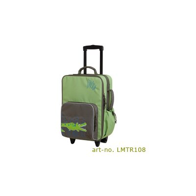 "Lassig Bags Crocodile Kids Trolley  18.5"" Spinner Suitcase"