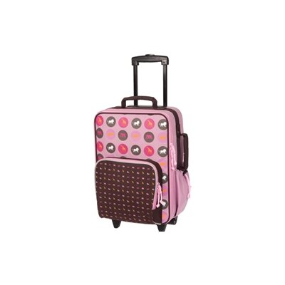 "Lassig Bags Savannah Kids Trolley 19"" Rolling Suitcase"