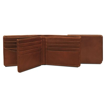 Tony Perotti The Green Collection Prima Tri-Fold Wallet