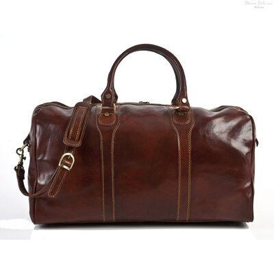 "Tony Perotti Amato 20"" Itallian Leather Duffel"