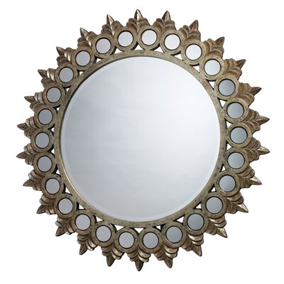 "Dimond Lighting 44"" H x 44"" W Porterdale Mirror"
