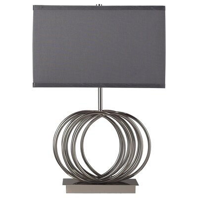 "Dimond Lighting Ekersall 22"" H Table Lamp with Drum Shade"