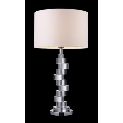 Dimond Lighting Armagh Table Lamp in Crystal And Chrome